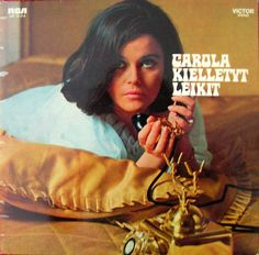 Carola - Kielletyt Leikit (1970) Cd Cover Art, Vinyl Cover, Vinyl Cd, Album Covers, Lp Album, Music, 1970s, Typography, Pillows
