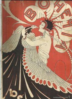 Art Deco Illustration, Fashion Illustration Vintage, Illustrations, Magazine Cover Design, Magazine Art, Magazine Covers, Vintage Cuba, Vintage Art, Alphonse Mucha