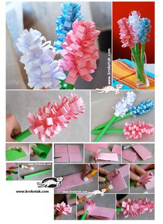 Paper Hyacinths! Such a fun craft!