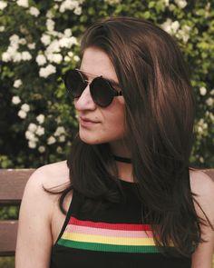 Round Sunglasses, David, Photos, Instagram, Fashion, Moda, Pictures, Round Frame Sunglasses, Fashion Styles
