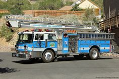 Storey County Fire Department - Virginia City, Nevada  #niceride #firetrucks #setcom  http://setcomcorp.com/csbheadset.html