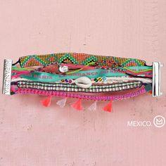 Bohême Mexique D'été HIPANEME Bracelets & Bangles DIY Plage Bracelet Aimanté Brésilienne Glamour Bijoux En Gros Personnalisable(China (Mainland))