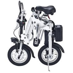 One-Second 12'' Folding Electric Bike Sf001 White Color with Lithium Battery 36V9ah and 250W Intelligent Brushless Motor - Buscar con Google