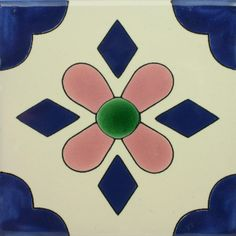 Especial Decorative Tile - San Blas – Mexican Tile Designs