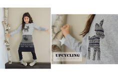 Titantina's Ideen: Upcycling: aus Pulli wird Rock mit Bommeln & Legwarmers