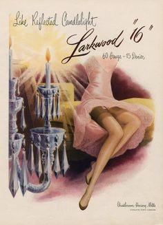 Larkwood 1955 Stockings Hosiery