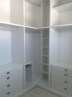 Corner closet solution