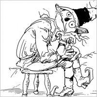 sad scarecrow clipart