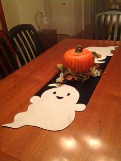 Cute Ghost Table Runner