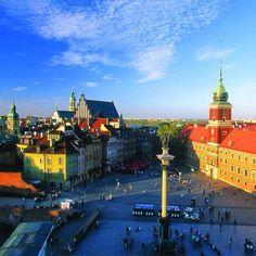 Warszawa / Plac Zamkowy  #cityscape #sky #Beauty #travels #love #instagood #instamood  #picoftheday #great #shot  ##instadaily #cute #amazing #poland #travelling #city #warsaw #capital #warszawa #stolica #mazowieckie #plac #zamkowy ##place