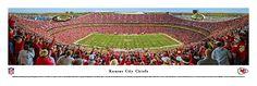 Kansas City Chiefs Panoramic Print - Arrowhead Stadium