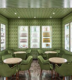 Pasticceria Marchesi, the Prada-owned pastry shop, opens a stylish new location in Milan Big Little Lies, Jil Sander, Milan Bar, Milan City, Milan Restaurants, Milan Travel, La Sede, Wes Anderson, Architectural Digest