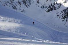 Solo snowshoer -byharris