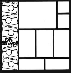 Lets Learn Cricut Classes scrapbook overlays