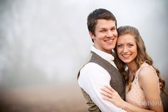 Outdoor sunrise engagement session - Footstone Photography