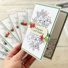 Cards For Friends, Inspire Others, Stampin Up, Paper Crafts, Joy, Crafty, Christmas, Xmas, Tissue Paper Crafts