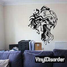 Fantasy Zodiac Wall Decal - Vinyl Decal - Car Decal - DC 8025