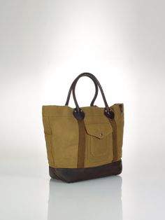 Thicket Canvas Tote - Totes   Bags & Business Accessories - RalphLauren.com