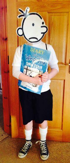 Greg Heffley costume #diaryofawimpykid