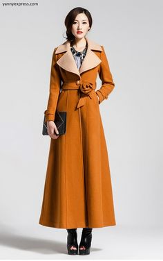 Couture Hollywood Long Wrap Coat