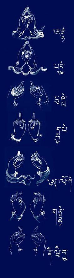 mudras - paz - fé - espiritualidade - esperança - amor - energia - oração - meditação - reflexão -  conhecimento -