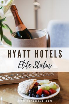 Having elite status at a hotel can turn an ordinary stay into an excellent one! Here are the basics of World of Hyatt Elite Status including the elite level tiers and how to earn status. Plus, I'll show you how you can earn status without staying a single night in a hotel room. South America Travel, North America, Credit Card Points, Amazing Destinations, Travel Destinations, Flight And Hotel, Argentina Travel, Hotels And Resorts, Luxury Travel