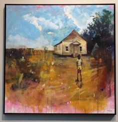 Love, love...independent of TWIN, Memphian Terry Lynn has two paintings @ Nashville Music City Center
