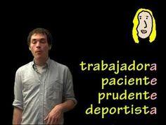 01013 Spanish Lesson - ¿Cómo eres? & describing personality (pt 2)