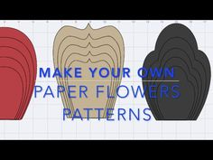 DIY Paper Rose Tutorial - My Wedding Backdrop Flowers - YouTube