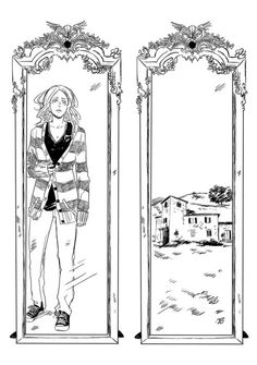 Clary - Left, Amatis's house - Right