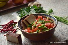 15 salate pentru diete sanatoase. Cele mai bune salate din lume – Maria Nicuţar Tofu, Best Salad Recipes, Ratatouille, Salsa, Health Fitness, Mexican, Ethnic Recipes, Diet, Kitchens