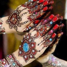 colorful mehndi.....!!!!