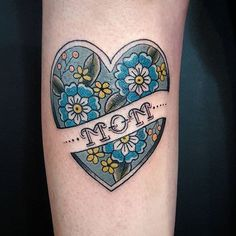 Hope all you moms had a great Mother's Day! Mom heart with flowers by @gentle_jessica at @scapegoat_tattoo in Portland Oregon. #tattoosnob #tattoo #mom #mothersday #momheart #momhearttattoo #scapegoattattoo #portland #portlandtattoo
