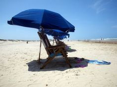South Padre Island Texas this is what we done for one whole day...beach sitting, ahhh it was great. p