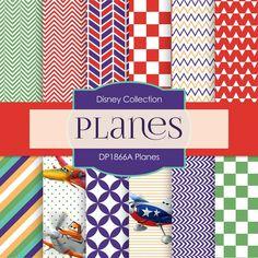 Planes Digital Paper DP1866A