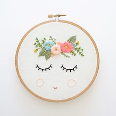 POSY - Embroidery Pattern - Digital Download by ThreadFolk on Etsy https://www.etsy.com/listing/462475419/posy-embroidery-pattern-digital-download