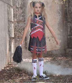 A Zombie Cheerleader Costume For Kids.JPG (474×548)