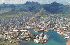 Mauritius | Port Louis - Capital of Mauritius ; Birth Place of Mr. & Mrs. Auckbaraullee
