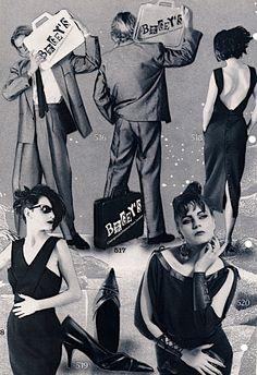 Bogey's Underground Fashion from London, catalog, circa 1986