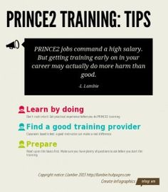 PRINCE2 training tips
