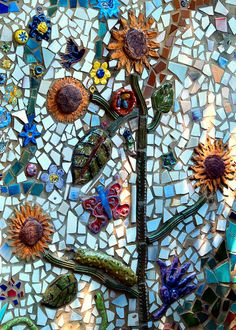 Mosaic Garden by fundraz34, via Flickr  Repin By    http://www.mosaicmosaic.com/