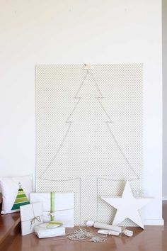 christmas tree pegboard