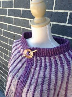 Sector is an easy crescent shaped shawl worked in two colours of a bulky weight yarn at relaxed gauge. Length is easy to alter by changing the number of wedges worked. Crescent Shape, Crochet Designs, Ravelry, Knit Crochet, Knitting, Shawls, Pattern, Fiber, Wedges