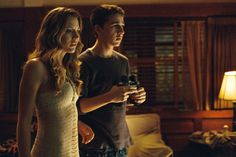 Still of Shia LaBeouf and Sarah Roemer in Paranoia (2007)