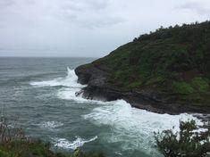 Das Naturschutzgebiet ist der nördlichste Punkt von Kauai und an den Klippen brüten viele Vögel.