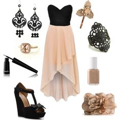 """An evening out"" by crystal-moore on Polyvore"