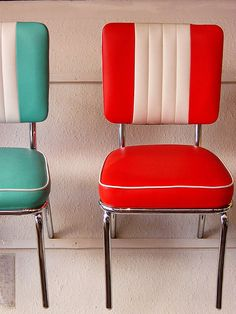 1950s kitchen chairs.