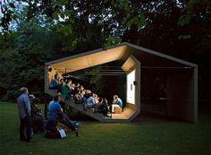 Little outdoor cinema