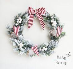 Wianek - Boże Narodzenie (proj. MaAg Scrap), do kupienia w DecoBazaar.com