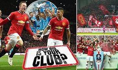 Are Manchester United, Liverpool, Arsenal or Chelsea the biggest club? #DailyMail